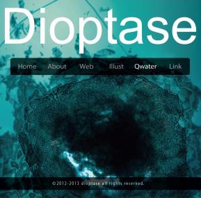 Qwater Dioptase